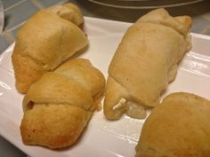 Brie and Pear Stuffed Crescent Rolls