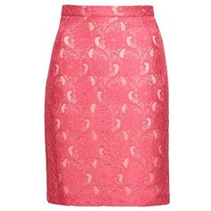 Coral lace skirt - H&M Conscious Collection