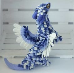Russian artist has built an entire dragon collection featuring detailed designs with bits unique to every single one of her creations, giving them a character of their own.
