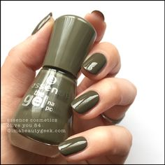 Olive Color Nail Polish - Olive Color Nail Polish , Neutral Nail Polish Colors for Olive Skin Creative touch Essence Nail Polish, Neutral Nail Polish, Nail Polish Colors, Swatch, Olives, Joy Nails, Coffin Nails Designs Summer, Popular Nail Colors, Essence Cosmetics