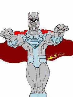 magneto/john henry irons*steel (dc comics)