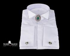 Wing Collar, Shirt Dress, Mens Tops, Shirts, Fashion, Moda, Shirtdress, Shirt, Fasion