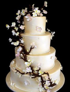 tortas de bodas espectaculares | Tartas nupciales originales [FOTOS] | Ella Hoy