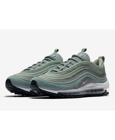 147b62f90760cb Nike Air Max 97 Mica Green Features Corduroy And Studs