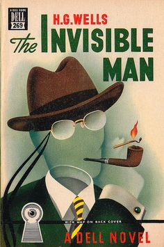 Dell No. 269 - The Invisible Man by H. G. Wells. Cover art by Gerald Gregg