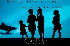 How to shoot a great Silhouette of your family - photography tips