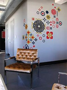 Removable Wall Decals in Modern Design Ideas Dorm Accessories ...