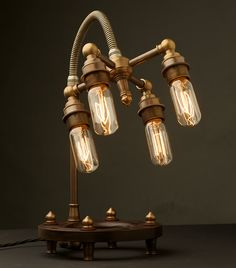 Edison Light Globes Steampunk Lamps | Beautiful Life