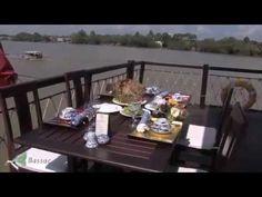 Bassac Cruise The Mekong Delta Mekong Delta, Outdoor Furniture, Outdoor Decor, Cruise, Table Settings, Youtube, Home Decor, Decoration Home, Room Decor