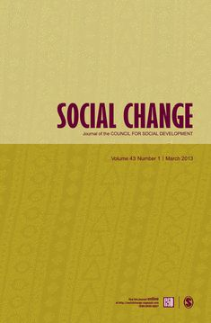 It publishes problem-oriented, empirically-grounded analytical papers, theoretical essays and policy discussions in the field of social change and development, . Social Change, Theory, Journals, Company Logo, Cover, Journal Art, Journal, Writers Notebook, Daily Diary