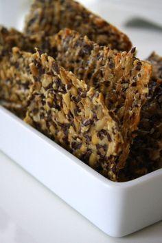 Raw Food Recipes, Bread Recipes, Baking Recipes, Snack Recipes, Snacks, Swedish Recipes, Lchf, Healthy Baking, No Bake Desserts