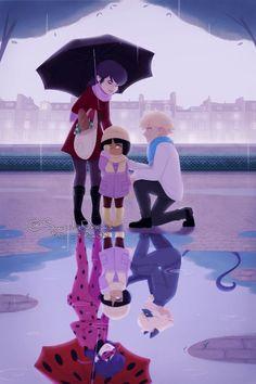Marinette e Adrien ou Ladybug e Cat Noir!? ¬.¬