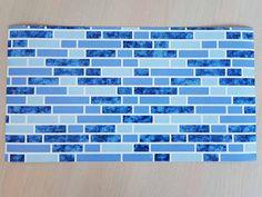 Autocolant faianţă albastră Turik Company Logo, Diy, Design, Bricolage, Do It Yourself, Homemade, Diys, Crafting