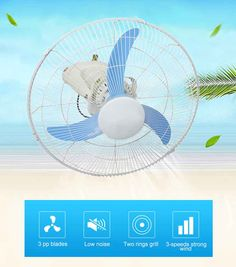 AC or DC solar orbit fan can be effective in circulating fresh air and removing excessive heat via the rotation of fan blades. This exchange of air offers cool breeze throughout your home and makes the inside of a home cooler and more comfortable. Solar Fan, Stand Fan, Home Cooler, Fan Poster, Fan Blades, Strong Wind, Breeze, Fresh