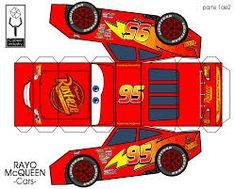 42 Ideas for party kids cars lightning mcqueen Disney Cars Party, Disney Cars Birthday, Cars Birthday Parties, Paper Car, Paper Toys, Auto Party, Car Party, Diy And Crafts, Crafts For Kids