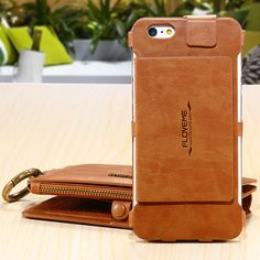FLOVEME 6s 7 Plus Bag Multi-functional Case For Apple iPhone 7 7 Plus 6 6S 6 Plus 6S Plus Leather Card Holder Wallet Stand Cover