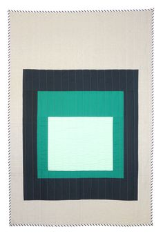 eliza kenan and claire oswalt for hopewell | modern quilt 022 (josef albers!)