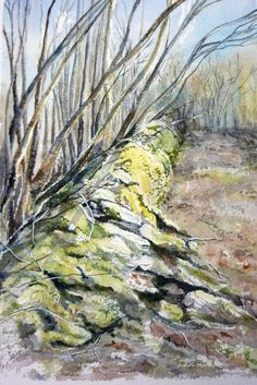 Stone Wall by Judith...