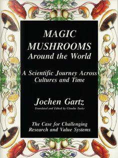 Resultado de imagem para imagens sobre livros sobre cogumelos magicos
