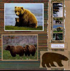 The first thing you need to know about making a scrapbook is that it isn't a complicated process at all. Scrapbooking isn't just for the 'crafty' person among Scrapbook Sketches, Scrapbook Page Layouts, Scrapbook Cards, Scrapbooking Ideas, Travel Scrapbook Pages, Vacation Scrapbook, Yellowstone Park, Birthday Scrapbook, Shabby
