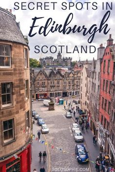 16 Secret spots in Edinburgh. Hidden gems, alternative attractions, offbeat locations and unusual things to do in the Scottish Capital. Here's a guide to offbeat Edinburgh, Scotland!