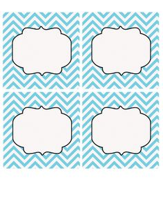 12 Awesome Free Customizable Candy Buffet Labels   Chevron labels ...