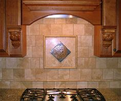 Celtic+Tiles+for+Backsplashes | The following Square Knot tile has been set in the tile work ...