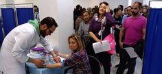 ALMUÑÉCAR. Muchosvecinos de Almuñécar están acudiendo adonar sangre, plasma y realizarse la prueba de donante