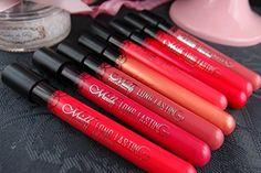 Bocola Lip Gloss Stick Professiona Cosmetic Long Lasting Makeup Waterproof Velvet Matte Nofade Liquid Full Color Lipstick Pen 12Colors Set *** See this great product.