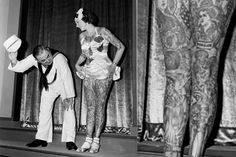 While working as a tattooed lady in a sideshow in 1939, Betty Broadbent participated in a beauty pageant at the NY World's Fair, challenging ideas of female beauty.
