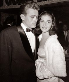 Happy 85th Birthday to Pier Angeli Uberfox who was engaged to James Dean (shown here) but sadly passed away at 39 from a barbiturate overdose... (circa 1954)