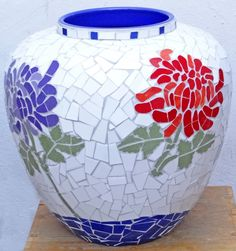 Ceramic mosaic pot                                                                                                                                                     More