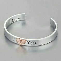 I Love You Bangle Bracelet Brand new! Adorable carved bracelet, carving on inside as well making tgis bracelet very special! Jewelry Bracelets