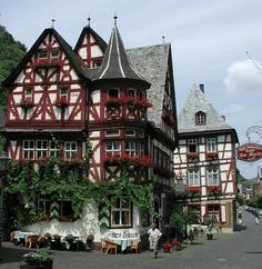 Dinkelsbuhl, a town of real life gingerbread houses..