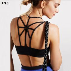 Women's High Support Cross Beautiful Back Wirefree Removable Padded Cups Yoga Sport Bra Athletic Vest Tops #men, #hats, #watches, #belts, #fashion