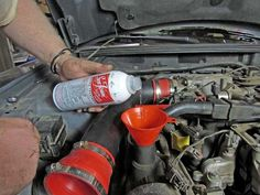 Sea Foam is one of those products that has almost legendary status among mechanics. Here's how to use Sea Foam Motor Treatment the right way. Truck Repair, Auto Body Repair, Engine Repair, Car Engine, Vehicle Repair, Diesel Fuel Filter, Used Cars Movie, Automotive Solutions, Automobile