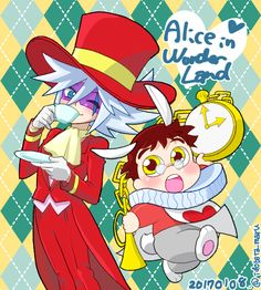 Kaitou Joker as the Mad Hatter