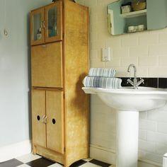 50er-Jahre Badezimmer Lagerung Wohnideen Badezimmer Living Ideas Bathroom