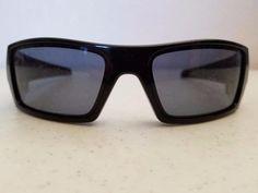 $40.95 Oakley Gascan Sunglasses 12-891 Gloss Black Frame Parts Repair Lens Replacement #OakleyGascan #Wrap