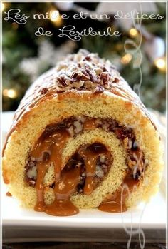 Cake Roll Recipes, Dessert Recipes, Bon Dessert, Xmas Dinner, Biscuit Cake, Xmas Cookies, Pie Cake, Rolls Recipe, Saveur