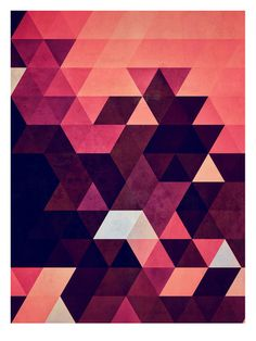 Abstrakte Kunst: Rosa Poster bei AllPosters.de