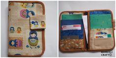 Funda para llevar los papeles del pediatra-Manualicraft - Amigurumi, scrap y costura creativa