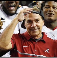 The Baddest and coolest coach..ROLL TIDE!!