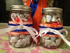 Easy mason jar craft/gift! #masonjars #craft #easy