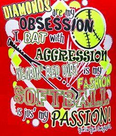 Want this shirt so much love softball
