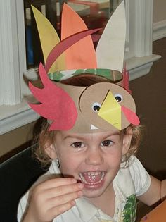 Thanksgiving Mommy and Me Fun using the book Ten Fat Turkeys!  Crafts, songs, finger plays, and treats