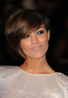 Frankie Sandford - but seriously, her hair.