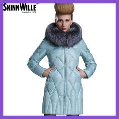 2017 Nuovo Inverno Collezione 2017 Bio Fluff Cappotto di Media Lunghezza cappotto Alla Moda delle Donne Giacca Con Cappucc
