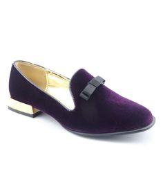 Purple & Gold Bella Loafer
