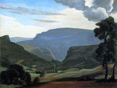 Roger de La Fresnaye (1885 - 1925) Landscape at Hauteville, 1922